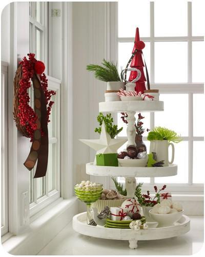 Ideas originales para decorar la casa en navidad paperblog for Elle decor christmas tree