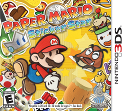 Review Paper Mario Sticker Star Nintendo 3ds Paperblog