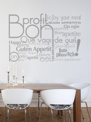 Ideas para decorar con vinilos paperblog - Vinilos decorativos para comedor ...