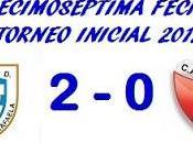 Atlético Rafaela:2 Colón:0 (Fecha 17°)