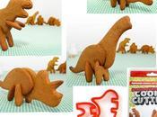 Moldes para galletas dinosaurios