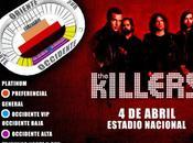 Killers Vuelve Perú Abril