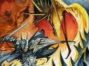 mítica portada juego 'Camelot Warriors' Azpiri, reinterpretada mismo
