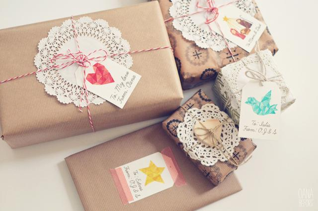 DIY: CHRISTMAS GIFT TAGS
