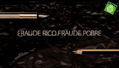 Salvados 2/12/2012: Fraude rico, fraude pobre