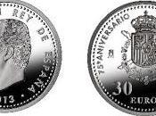 Espacio numismático: moneda euros, motivo aniversario españa