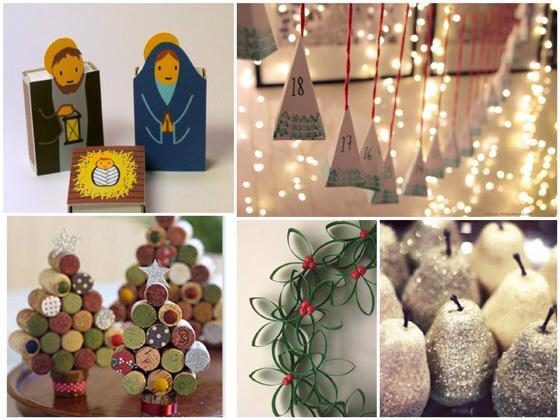 Decoraci n navide a hecha en casa paperblog - Decoracion hecha en casa ...