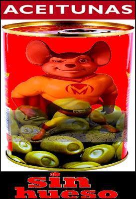 Encuentra un ratón muerto en un bote de aceitunas