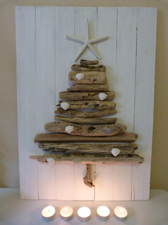 Rboles de navidad con madera paperblog - Arboles de navidad de madera ...