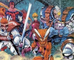 X-MEN: EL FUTURO SE PINTA DE AZUL Y ORO