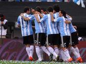 Selección despidió público argentino goleada