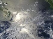 gran mancha petróleo Golfo México, vista desde espacio