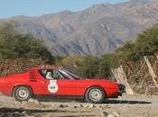 "Alfa Romeo Montreal 1974 ganador Rally Automóviles Clásicos ""Camino Bicentenario"""