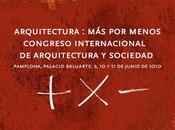 Menos Congreso Arquitectura Sociedad