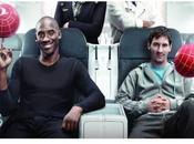 Kobe Bryant Leonel Messi, unidos publicidad