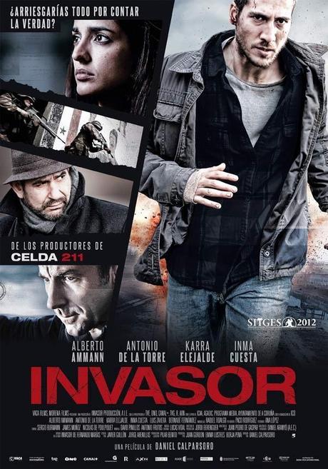 'Invasor', de Daniel Calparsoro, preseleccionada para los Globos de Oro
