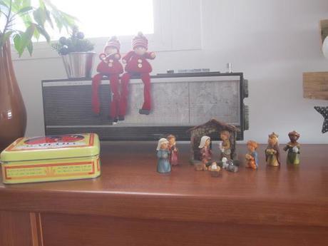 La deco de Navidad de mi casa con palets