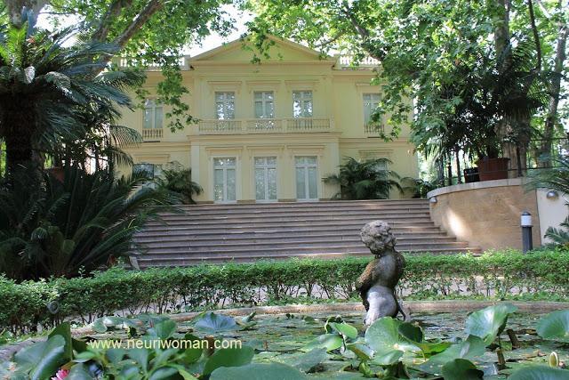 Jard n bot nico de m laga casa palacio paperblog for Casa jardin botanico