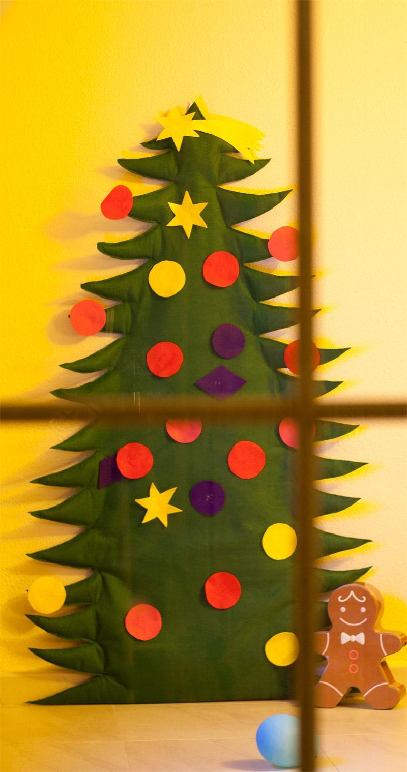 Nuestro rbol de navidad paperblog - Arbol de navidad de fieltro ...