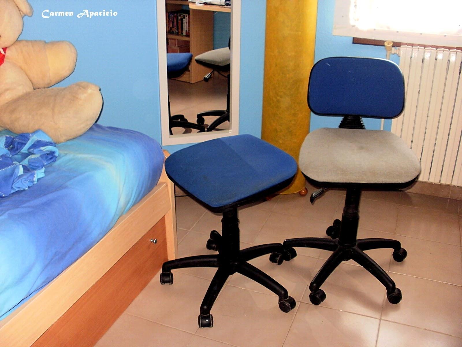 Reciclando sillas de escritorio con password paperblog for Sillas para el escritorio