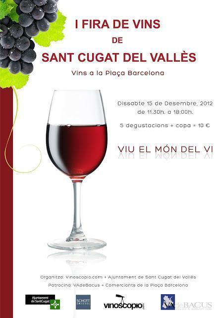 I Fira  de Vins de Sant Cugat del Vallès