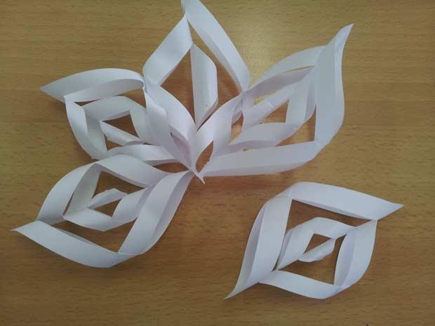 Estrellas de nieve para decorar la navidad paperblog - Decorar estrella navidad ...