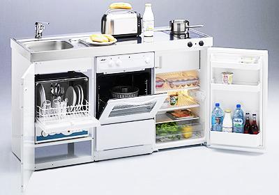 Cocinas compactas para espacios peque os paperblog for Cocinas para espacios pequenos