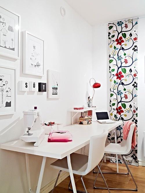 Espacios de trabajo con cuatro tablas paperblog - Espacios de trabajo ikea ...
