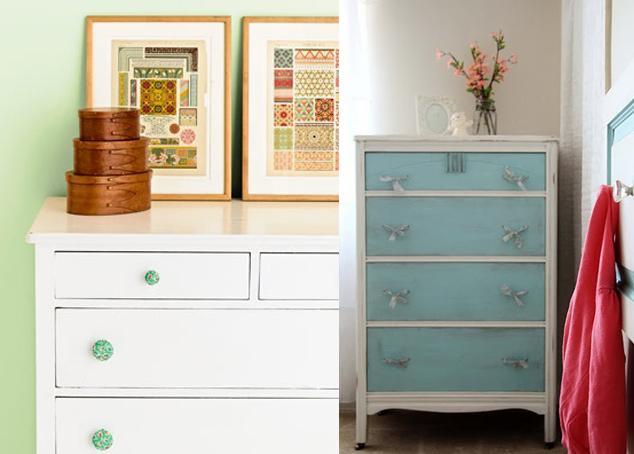 Recicla muebles viejos paperblog for Pintar un mueble de blanco