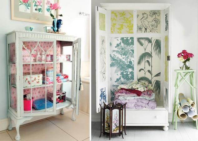 Recuperar muebles viejos te traemos ideas para reciclar - Restaurar muebles con papel ...