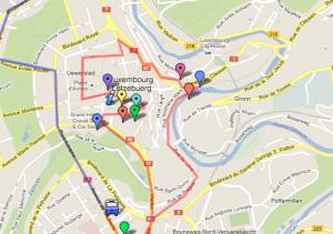 Luxemburgo mapa