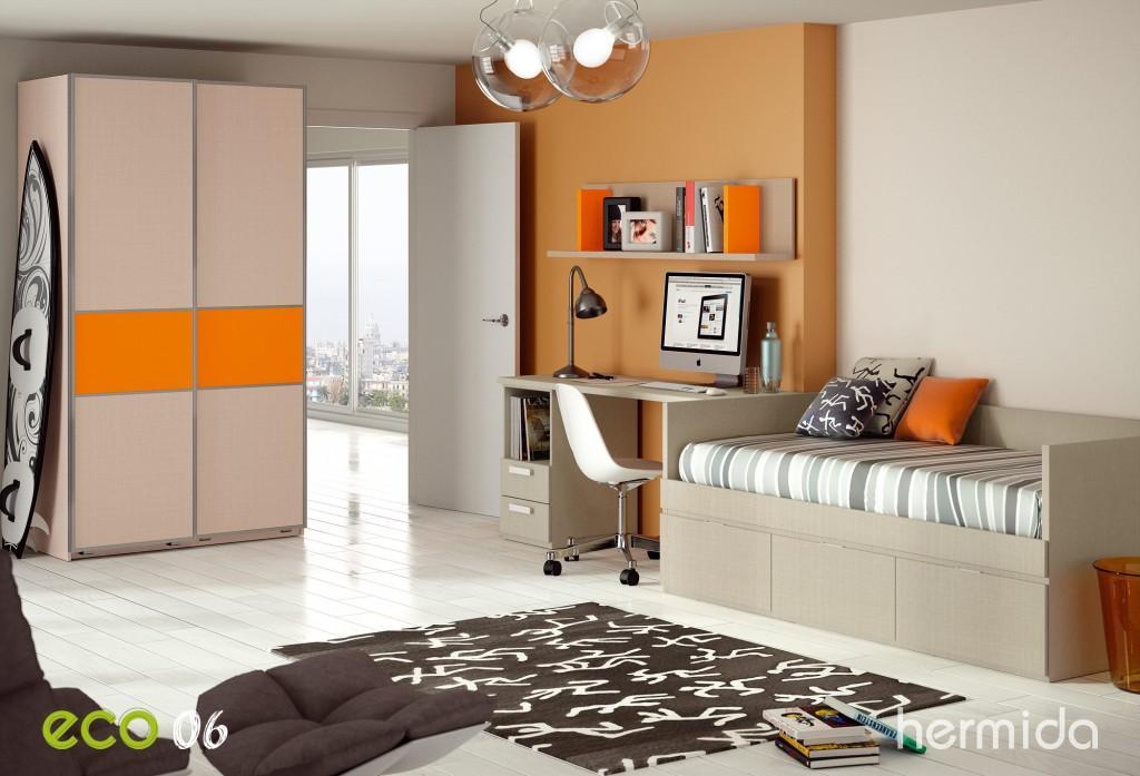 Hermida nueva colecci n eco de mobiliario juvenil paperblog for Programa amueblar habitacion