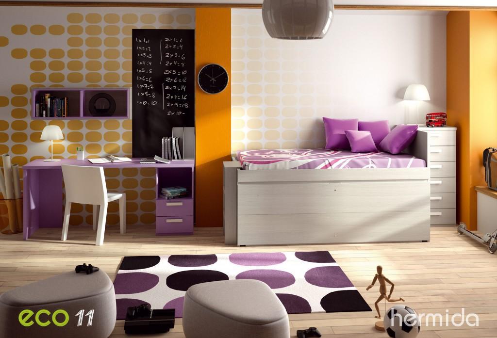 Hermida nueva colecci n eco de mobiliario juvenil paperblog for Muebles hermida