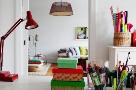decoraci n alegre accesorios para el hogar de colores