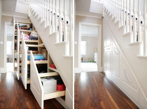 Baño Bajo Una Escalera:Aprovechar huecos bajo escaleras – Paperblog