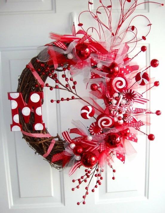 Feliz f cil y econ mica navidad coronas paperblog for Decoracion del hogar facil y economico