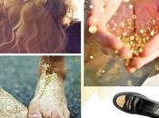 Para gustos, colores: Glitter gold