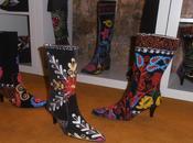 Zapatos diseño, obras arte pies