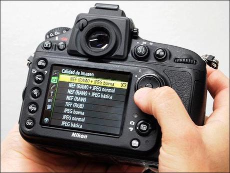 lcd, pantalla, monitor, Nikon, D800, test, review, analísis, detalles