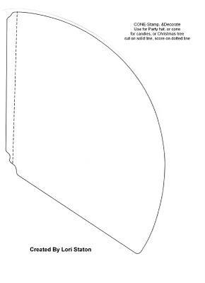 Un cono rojo paperblog - Como hago un cono ...