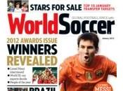 "revista ""world soccer"" elige messi 2012"