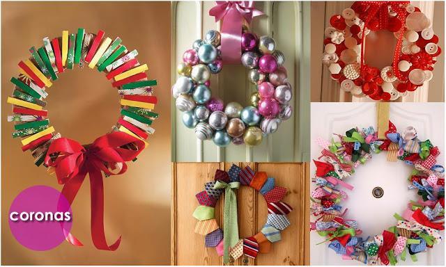 Viste tu casa de navidad paperblog - Adorno puerta navidad ...