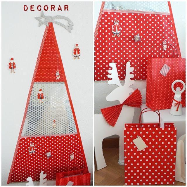 Ikea Christmas Decorations 2012: Diy: Mi árbol De Navidad De Papel De Regalo De Ikea Y