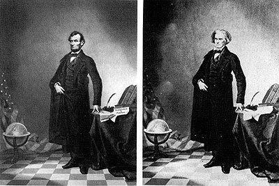 Abraham Lincoln y John Calhoun