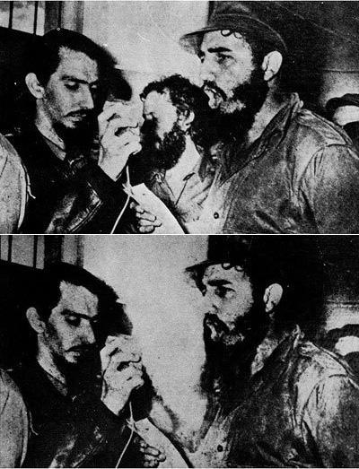 Fidel Castro y Carlos Franqui