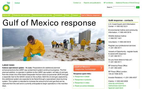 BP Golfo de México, Una mancha dura de limpiar
