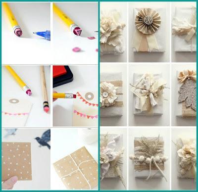Envoltorios navidad originales baratos y eco paperblog for Envoltorios para regalos