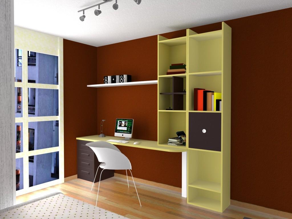 Dise o dormitorio juvenil en beig y moka muebles azor for Diseno de muebles para dormitorio de nina