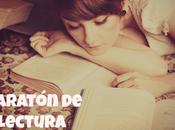 Maratón lectura, actividad libros elegidos