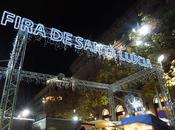 Iluminación navideña Barcelona Fira Santa Llúcia